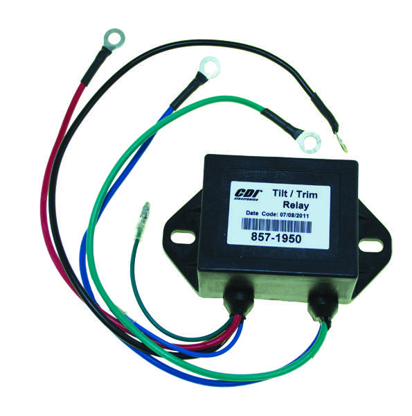 Yamaha Power Trim Relay & Harness 6G5-81950-01 (857-1950)